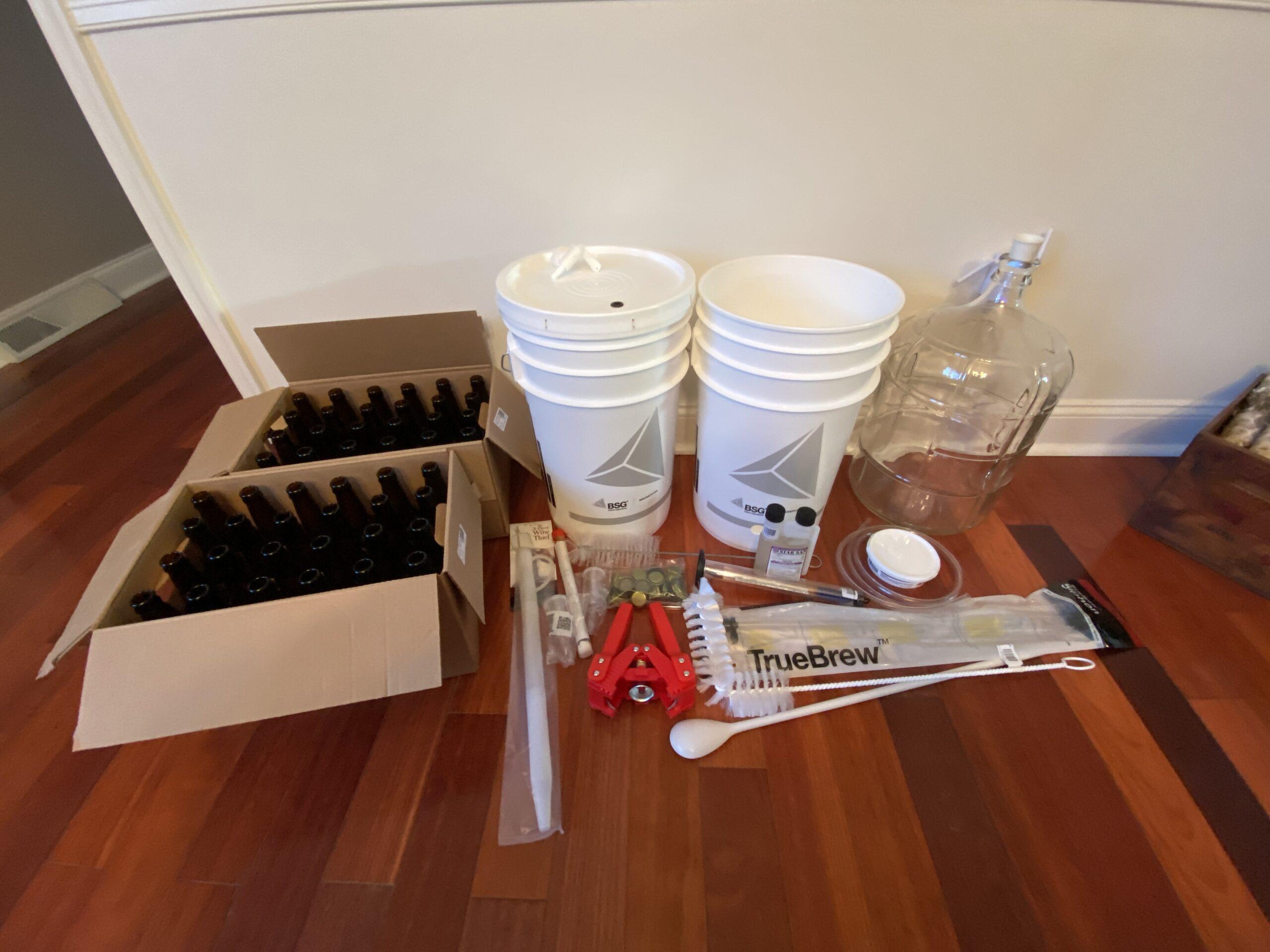 Homebrewing Kit